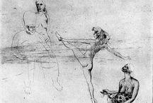 ARTE DO DESENHO  I -  PICASSO / Mostra de desenhos figura humana, animais e natureza