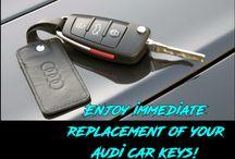 Audi replacement car keys