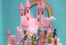 Fondant cakes fairy
