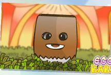 ❤ egg baby ❤ / Only my egg.  ( the game is egg baby)  very pretty