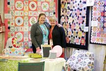 Sue Daley's EPP / Sue Daley, the Queen of English Paper Piecing, has a myriad of tips, tricks and patterns for beautiful English paper Pieced quilts.
