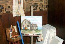 Malerwerkstatt