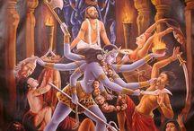 Durga_Shiva_Ganesha