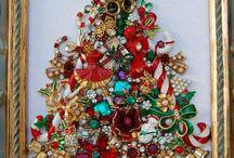 Jeweled Christmas Tree's