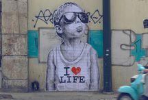 Arte urbano / Arte callejero y profesional que conmueve por su creatividad