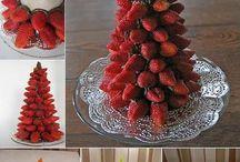 ideerecette sapin noel fruit