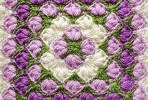 Crochet (granny squares/hexagons)