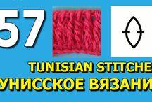 crochê tunisiano