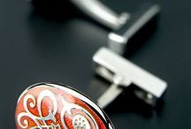 real men wear,,,,,,,,, / cuff links and  accesories / by Clint Carlton