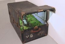 Junk in the Trunks / All the clever and creative things to do with luggage trunks!