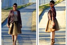 Tulle, Frills, Glitter & Gold! / Fabulously Funky Tulle Skirts