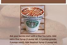 Starbucks / Drinks to try