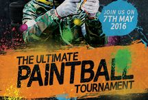 Paintball posters