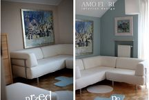 Before & After Amofiori Makeovers / This is how I transform interiors into Amofiori Style