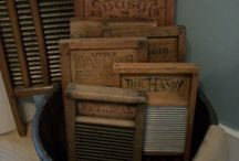 Washboards, tubs, & ladders