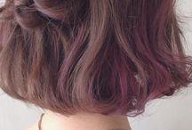 Short hair braid/styles