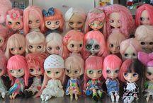 Blythe dolls.   / by Krista McCaw
