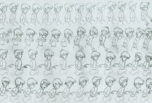 Animation Reference / by Satoru Chinen