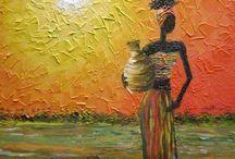 mulher África