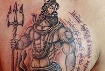 Tattoos shiva
