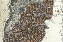 Cartes de ville
