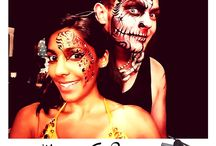 Mesmeric Face Painting / Facepainting
