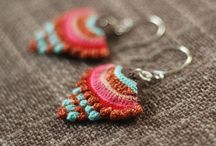 Crochet Necklases/Bracelets/Earrings