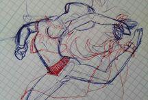 Ist das Kunst oder kann das weg? / Alles an Zeichnungen, Gemälden oder Skizzen was man findet, selber macht, geschenkt bekommt, im Traum gesehen hat, auf seinen Körper bringen will, andere bemalt