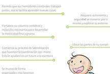 Infografías Educación Inicial / Si convives con niñas o niños de 0 a 4 años, encuentra alternativas y tips para el día a día
