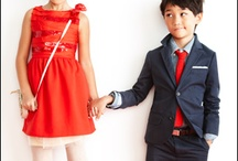 family outfits / Outfit ideas and color palates to assist customers in outfit selections.