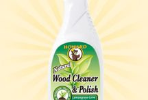 Wood Cleaner & Polish / Howard Wood Cleaner & Polish is an advanced, vegetable-based formula that easily cleans away dirt and grime. The natural polishing oils enrich the patina and polish all wood finishes. Safe to use on wood furniture, cabinets, antiques, paneling, veneers, and engineered wood.