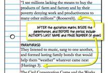 HS ELA: Source Citations