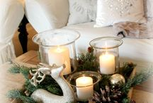A Minimalist Christmas / Keeping it simple and beautiful for Christmas and the holiday season.
