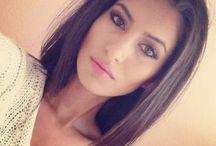 mid length hair strait