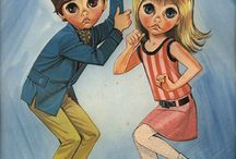 Big Eyes and Other Groovy Art