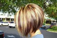 Hair color and cut ideas
