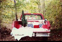 HOLIDAY TRUCK SESSIONS / styled photo set with vintage truck