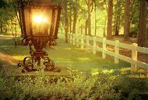 Laternen, Lampen, Licht und Feuer