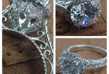 engagement rings :) / by Kimberly Davis