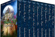 Box Sets & Anthologies - Regency Romace / Once upon a time nine historical romance authors created a fairy tale inspired Regency world. Go on a Regency adventure of love and romance in the limited edition box set Once Upon A Regency: Timeless Tales And Fables! Set includes 9 never told before stories.