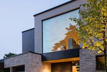 contemporary architecture of houses