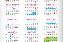 calendario escolar de 195 dias