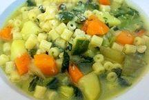 minestrone c legume