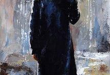 ο άντρας στην βροχή