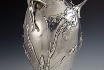 STERLING- AND OTHER SILVER METAL ART