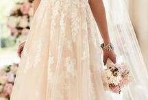 Leaf Wedding Dress