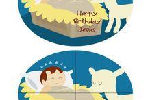 happy birthday jesus / by Kimberly Malcman
