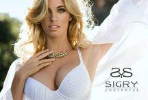 Sigry Underwear Campaña 2013 / 2014 /  Nuevo Catálogo Sigry Underwear - Rocio Guirao Diaz