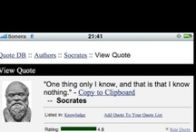 iPhone Screengrabs