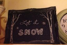 My chalkboard designs